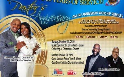 Pastor's 36th Anniversary Celebration